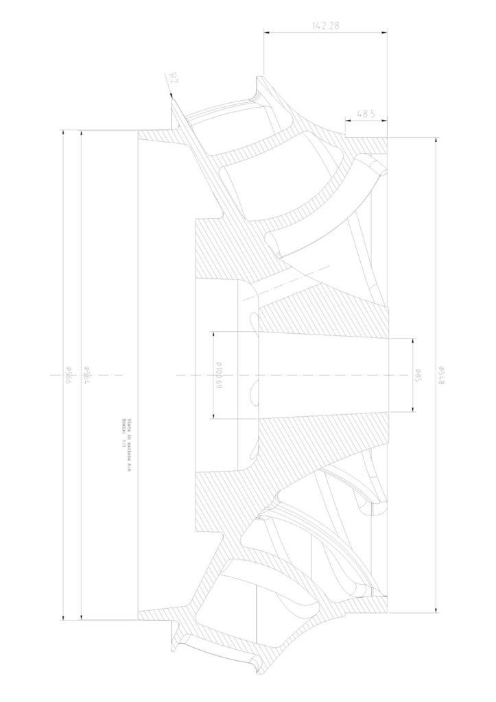 Girante pompa verticale RIVA